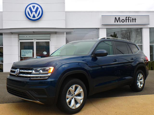New 2018 Volkswagen Atlas V6 S